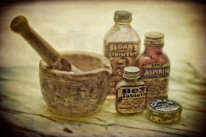 old medicine bottes 2